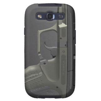 Automatic Handgun Samsung Galaxy S3 Case Galaxy S3 Cases