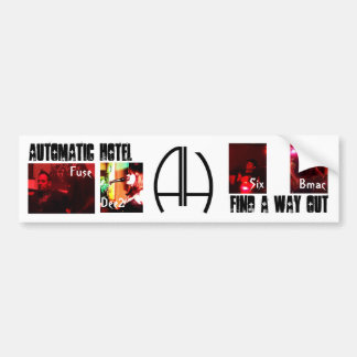 Automatic Hotel Bumper Sticker