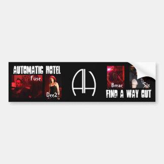 Automatic Hotel Bumper Stickers
