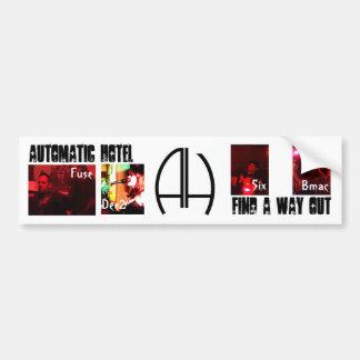 Automatic Hotel Car Bumper Sticker