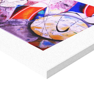 Automatic Shapes Canvas Print