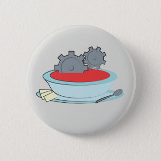 Automatic Soup Pinback Button
