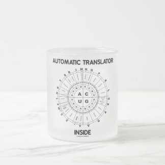 Automatic Translator Inside (RNA Codon Wheel) Coffee Mugs