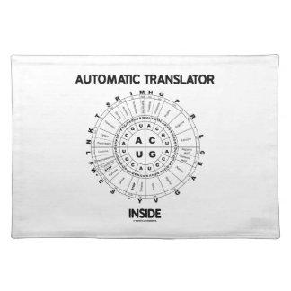 Automatic Translator Inside (RNA Codon Wheel) Placemats