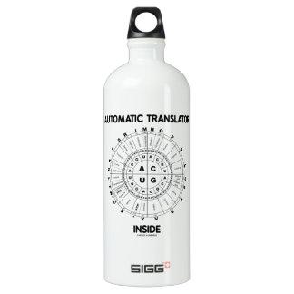 Automatic Translator Inside (RNA Codon Wheel) SIGG Traveler 1.0L Water Bottle