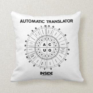 Automatic Translator Inside (RNA Codon Wheel) Throw Pillow