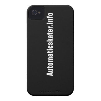 Automaticskater.info iPhone 4 Case-Mate ID™