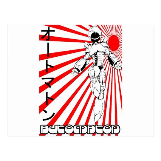 Automaton Postcard
