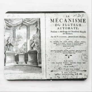 Automatons, illustration of the frontispiece mouse pad