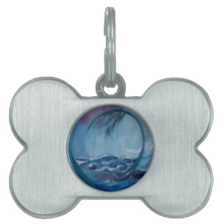 automic wave pet name tags