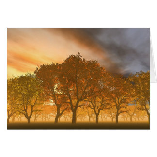 Automne Greeting Card