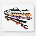 Automobile Armorique mouse mat Mousepads
