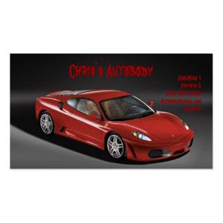 Automobile Business card
