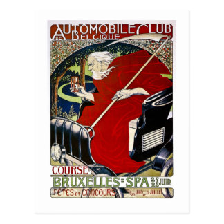 Automobile Club De Belcique - Vintage Postcard