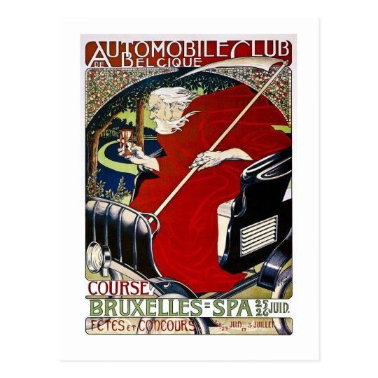 Automobile Club De Belcique - Vintage Postcard