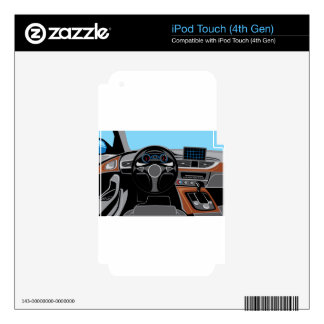 Automobile Interior Decals For iPod Touch 4G