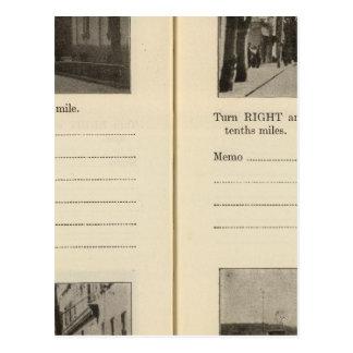 Automobile Roads NY Postcards
