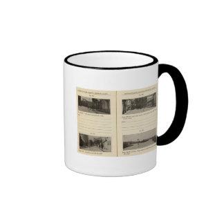 Automobile Roads, NY Ringer Coffee Mug