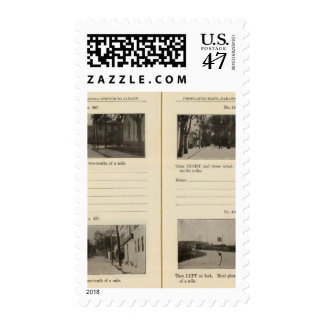 Automobile Roads, NY Stamp