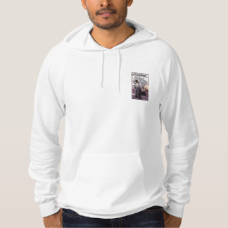 Automobile Velocipedi Advertising Milano Italy Hoodie