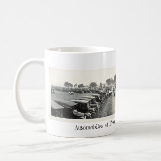 Automobiles At Fremont Tractor Show Coffee Mug