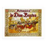 Automobiles de Dion-Bouton Postcard