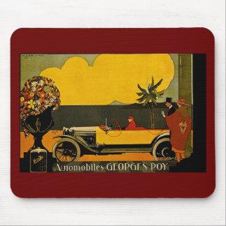 Automobiles Georges Roy - Vintage Ad Mousepads