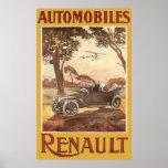 Automobiles Renault Print