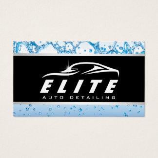 Automotive Auto Detailing Auto Spa Car Business Card