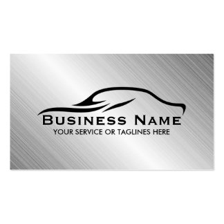 Automotive Auto Repair Professional Metal Car Business Card