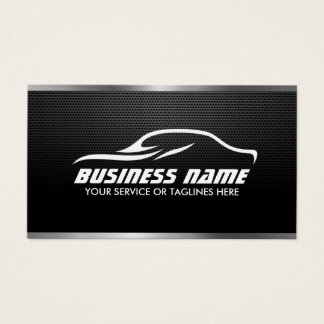 Automotive Auto Repair Professional Metal Steel Business Card