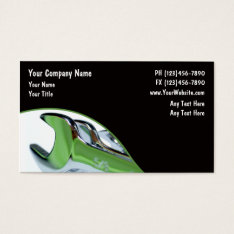 Automotive Business Card at Zazzle