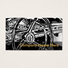 Automotive Business Cards at Zazzle