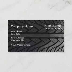 Tire business cards zazzle automotive business cards colourmoves