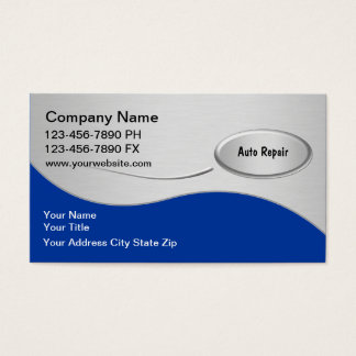 Automotive Business Cards New