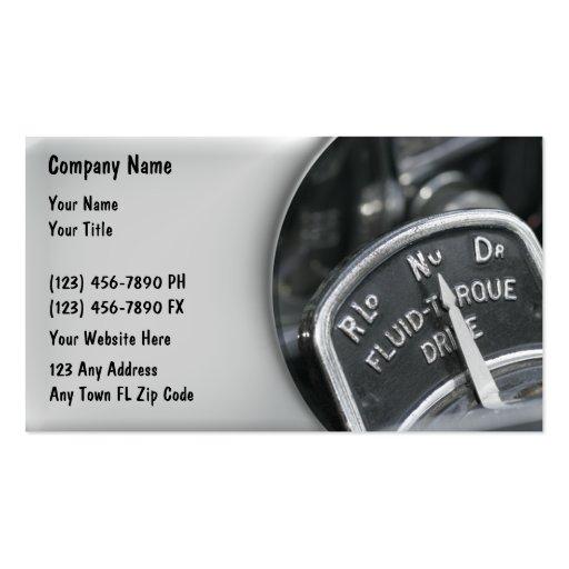 Auto repair business card templates page6 bizcardstudio automotive business cards retro reheart Choice Image