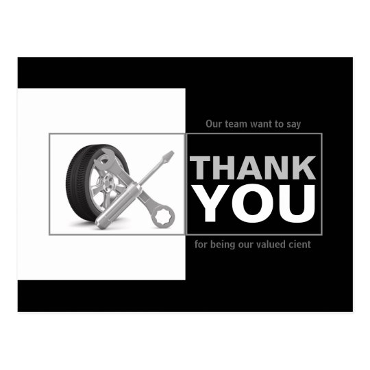 how to write a thankyou car