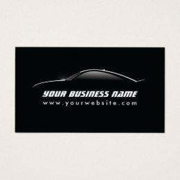 Automotive business cards 2400 automotive business card templates automotive cool car outline auto repair business card colourmoves