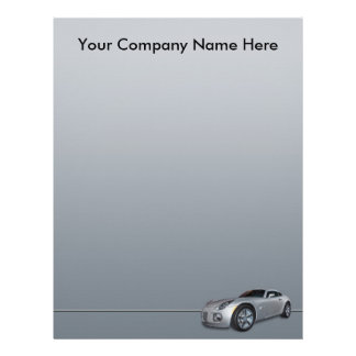 Automotive Dealership Letterhead