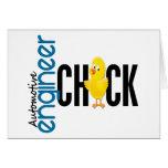 Automotive Engineer Chick Greeting Card