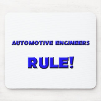 Automotive Engineers Rule! Mouse Pad