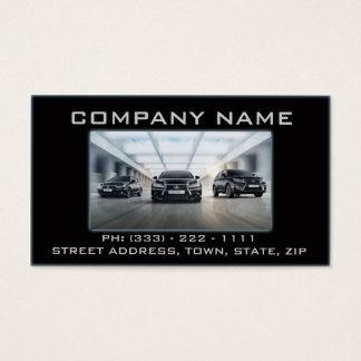Automotive / Mechanic Black Garage Fast Modern Business Card