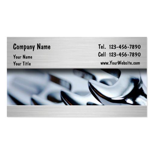 Automotive Mechanic Business Cards