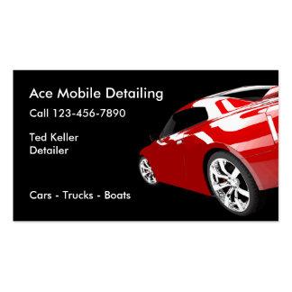 Automotive Mobile Detailing Business Cards