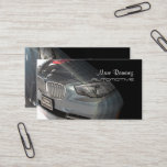 Automotive, photo business cards