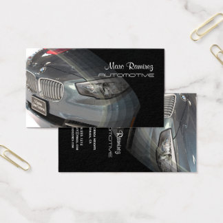 Automotive, photo business cards