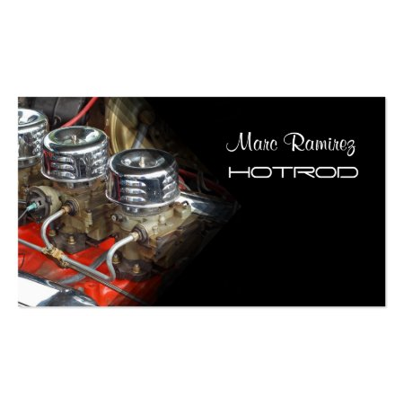 Hotrod Automotive Business Cards