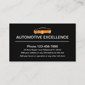 Automotive Professional Designed Business Card