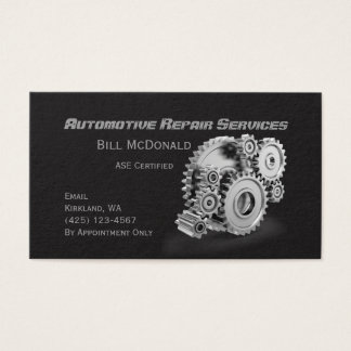 Automotive Business Cards Automotive Business Card Templates - Mechanic business cards templates free