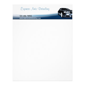 Automotive Repair Shop Letterhead